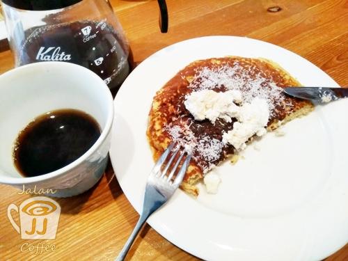 ダイエットに。健康に。お手軽満腹グルテンフリーパンケーキ☆gluten free pancake