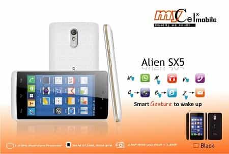 Mycell Alien SX5 Smartphone
