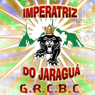 "Logotipo da Escola de Samba ""Imperatriz do Jaraguá"""
