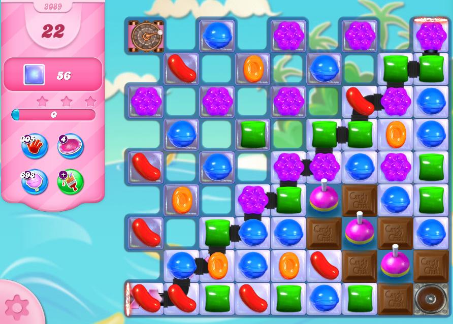 Candy Crush Saga level 3089
