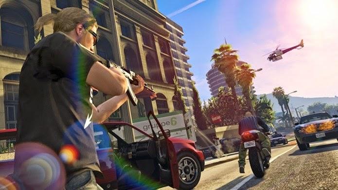 GTA 5 teve novas imagens divulgadas mostrando multiplayer no PlayStation 4 e Xbox One