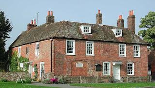 Chawton Cotttage yang sekarang dijadikan museum Jane Austen