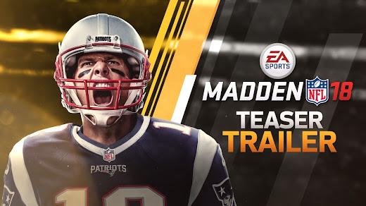 Tom Brady llega a Madden NFL 18 este 25 de Agosto
