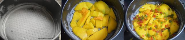 Mango Upside Down Cake