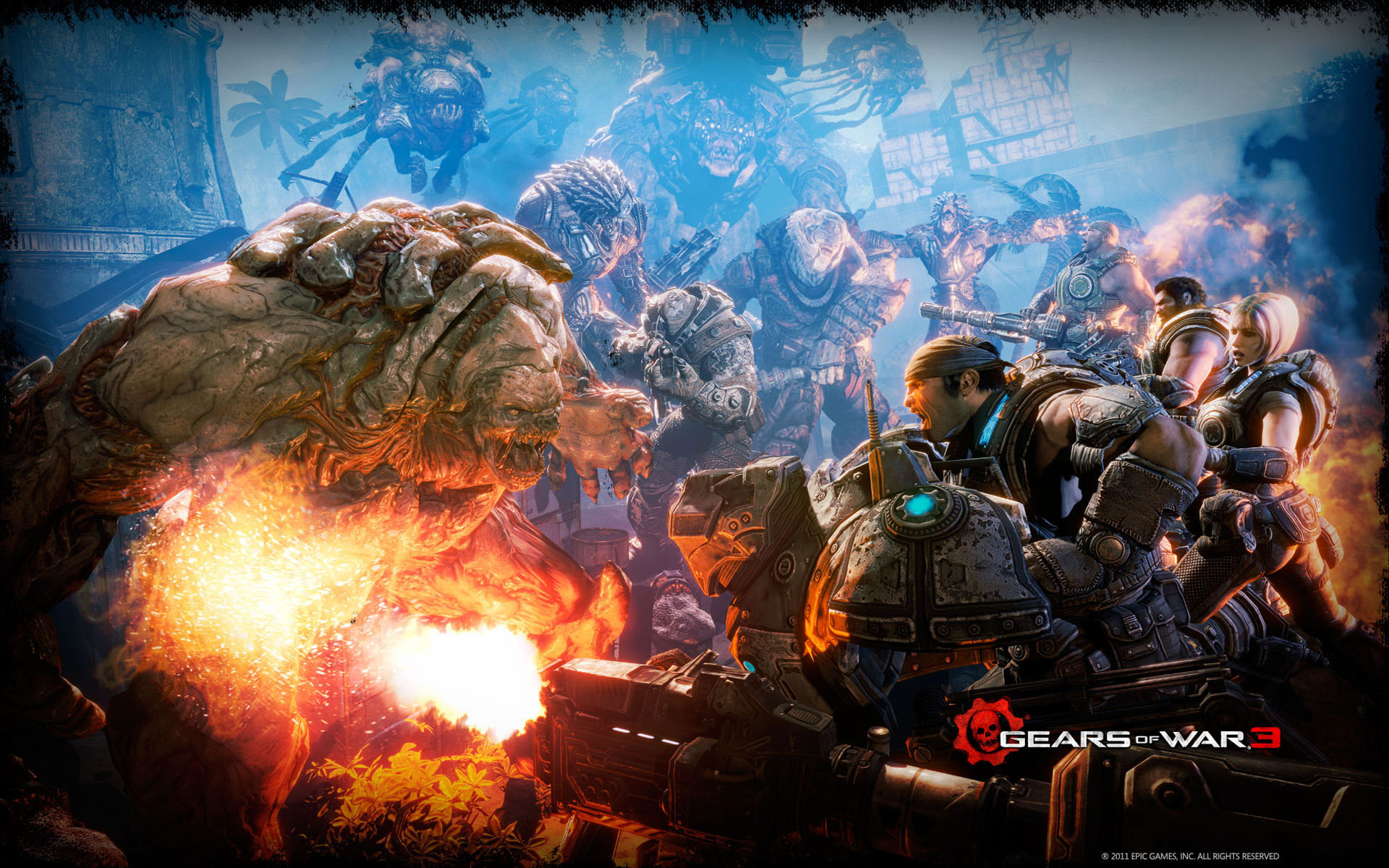 Gears Of War 3 Wallpapers 1920x1200
