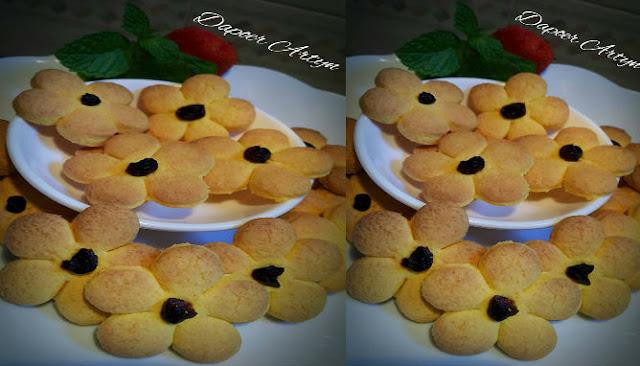 Resep Dahlia Cookies Klasik Yang Renyah dan Enak