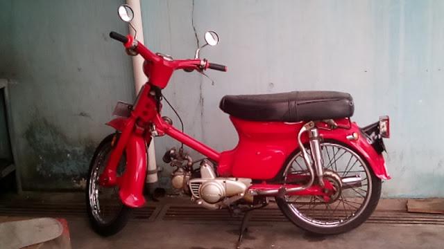 Honda pitung C70