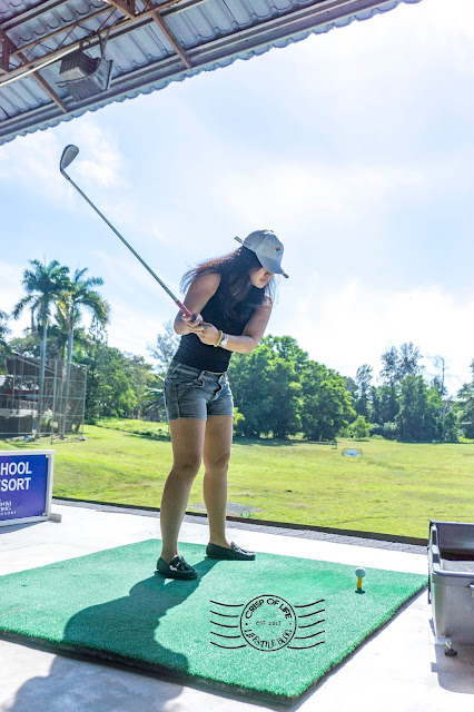 Golf Session Cinta Sayang Resort