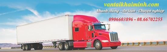 Công ty vận tải Khải Minh - cung cấp dịch vụ vận chuyển hàng hóa đường bộ, dầu n