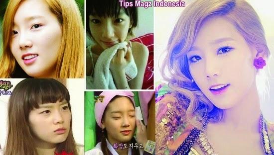artis korea Taeyeon - Girls Generation tanpa makeup