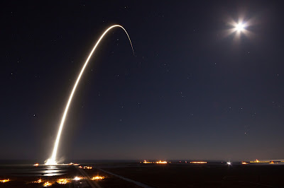 SpaceX early morning launch from Florida