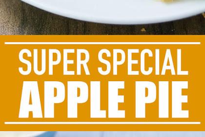 Super Special Apple Pie #dessert #applepie