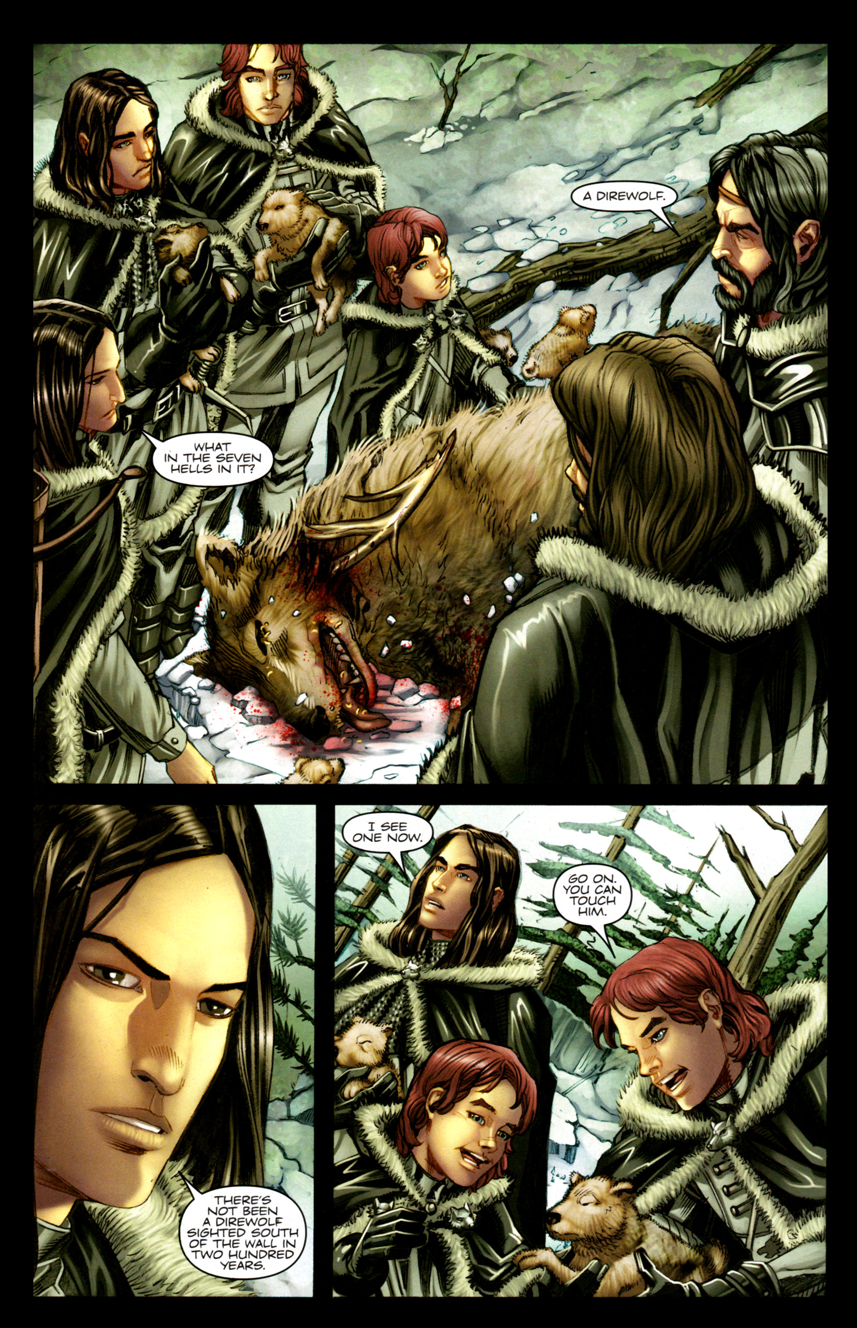 Read online A Game Of Thrones comic -  Issue #1 - 14