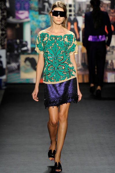 DVF Fall Winter 2012