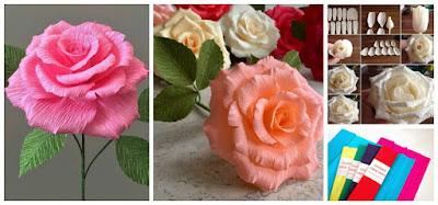 rosas-papel-crepe-regalar-san-valentin