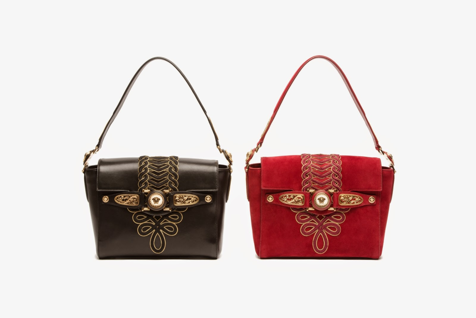 9aaf5cb318 ... as the famous Versace Medusa head.The bag comes in a variety of skins