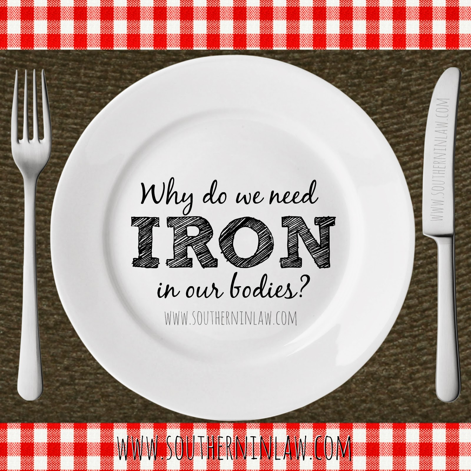 Why do we need iron in our bodies? What does iron do in the body?