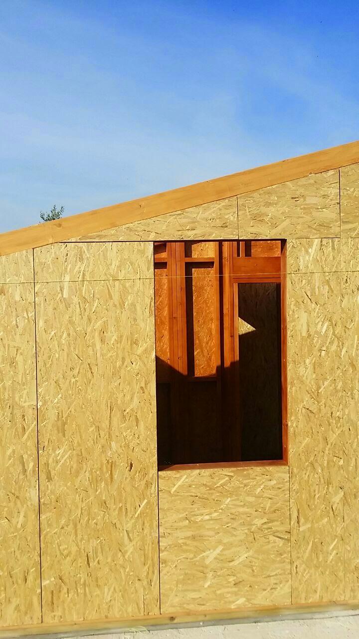 La mia casa in legno il rinterro for Platea per casa in legno