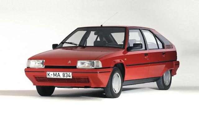 Citroen BX Classic Car