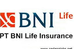 Lowongan Kerja Padang: PT. BNI Life Insurance Januari 2018
