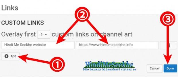 youtube-custom-links