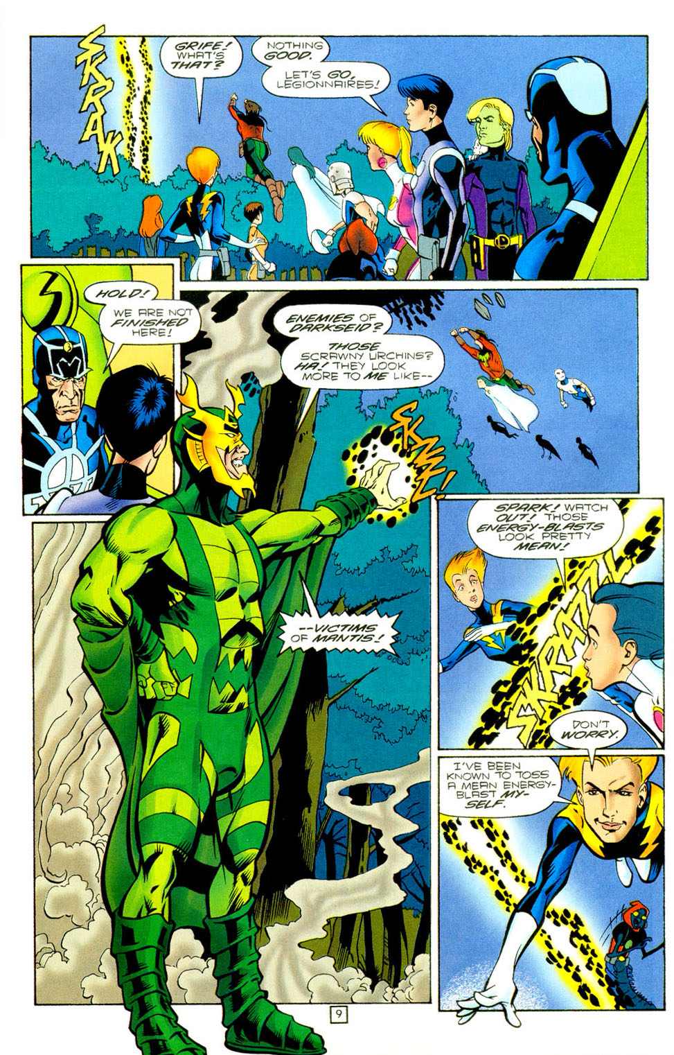Legion of Super-Heroes (1989) 97 Page 8