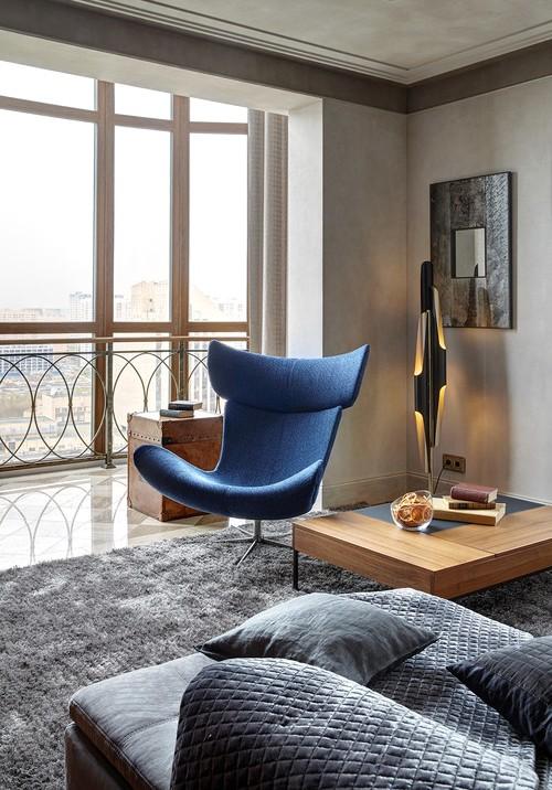 Дизайн-проекты. Старинная Италия в московской квартире