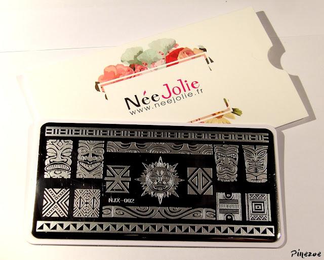 stamping Maya Née Jolie NJX 002