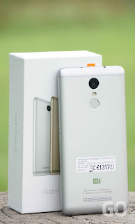 Xiaomi Redmi Note 3 Back View