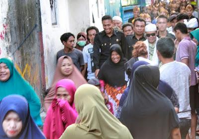 Di Pancor, Ali BD & TGH Lalu Gede Sakti Diarak Massa