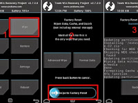 Cara Flash Andromax A A16C3H TWRP Recovery