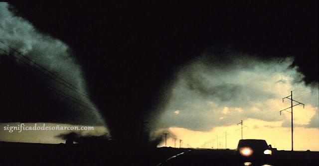 Significado de soñar con tornados