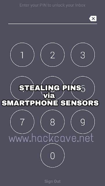 SmartPhone Sensor Hack