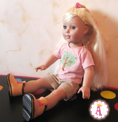 Красивая голубоглазая кукла 45 см Madame Alexander Outdoorsy Girl Doll