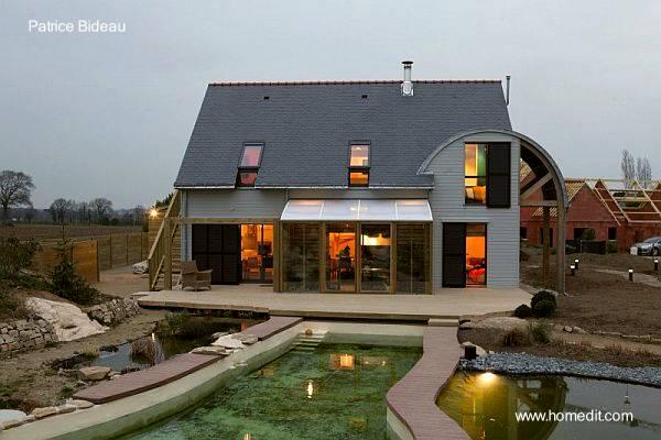 Casa de arquitectura bioclimática