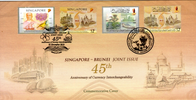 Pre-cancelled Commemorative Cover affixed with S$7.05*