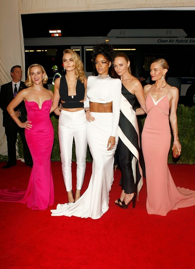 Reese Witherspoon, Cara Delevingne, Rihanna, Stella McCartney and Kate Bosworth