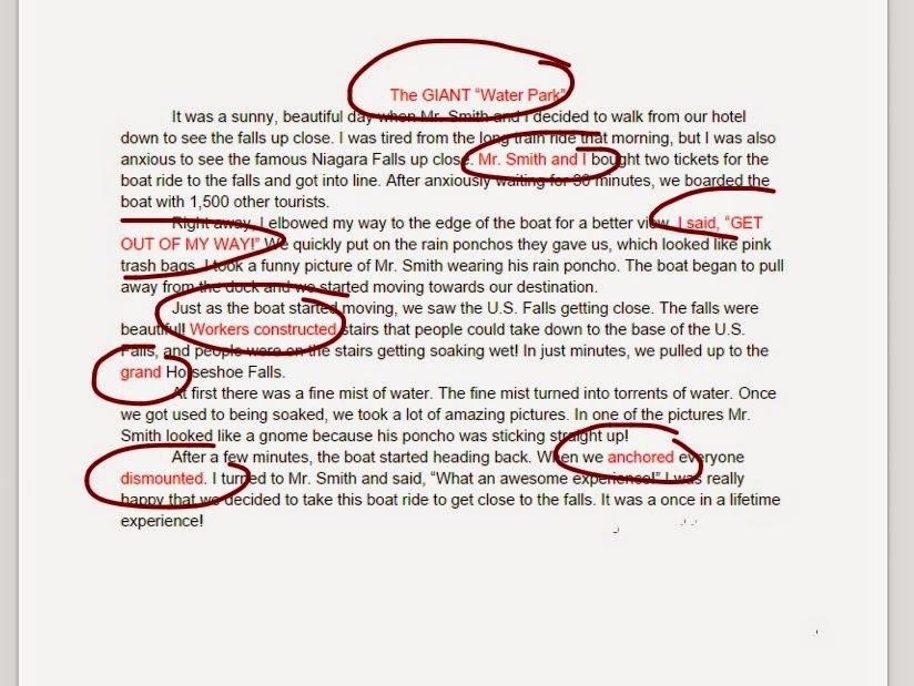 Revise my essay