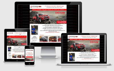 Website JogjaMitsubishi.com portal informasi harga dan produk Mitsubishi Jogjakarta | www.blankon-ku.com
