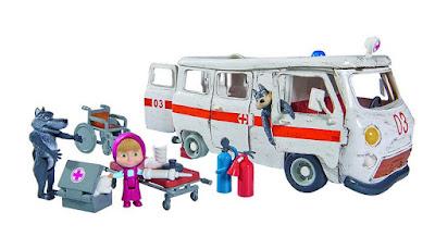 MASHA Y EL OSO - La Ambulancia | Simba | Serie Clan | COMPRAR JUGUETE - TOYS - JOGUINES contenido