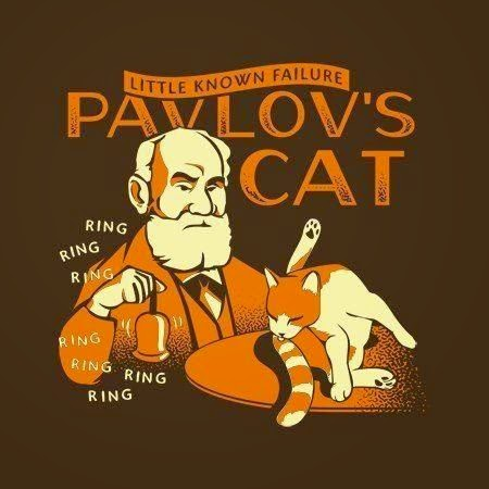 Funny Pavlov's Cat Little Known Failure Joke Picture