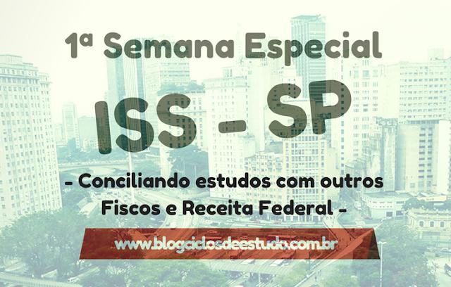 Semana especial ISS SP 2017 - Blog Ciclos de Estudo