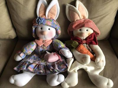 artzete, artesanato porto alegre, decoração de pascoa, enfeites de pascoa, decoração de coelho