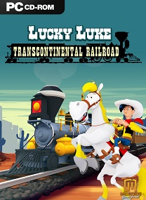 The construction of a railroad that connects the East with the West has been stopped by t Lucky Luke Transcontinental Railroad v1.0 Multilingual-ZEKE