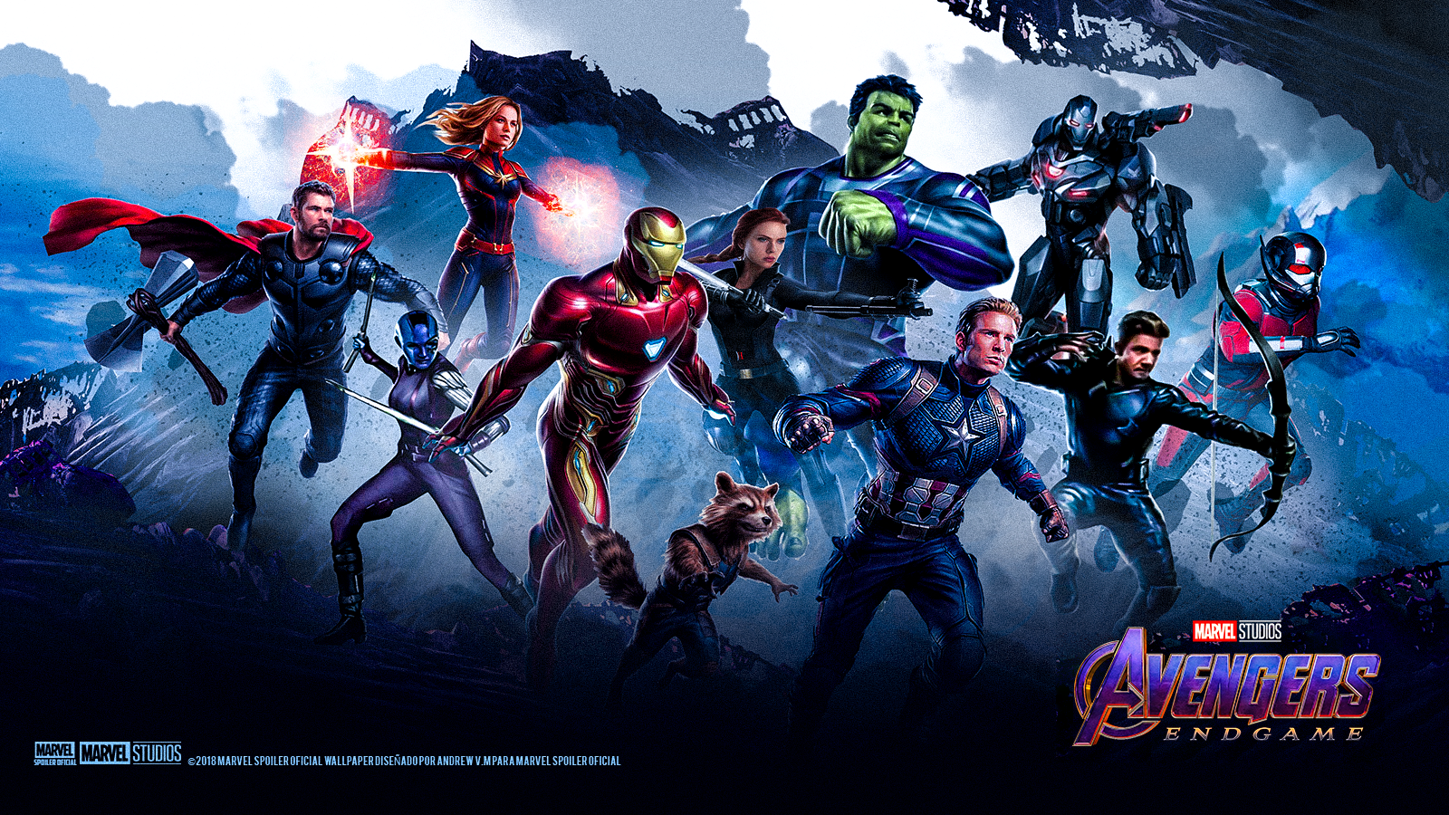 Avengers 4 End Game And Infinity War HD Wallpapers Download In 4K Iron Man, Captain Marvel ...