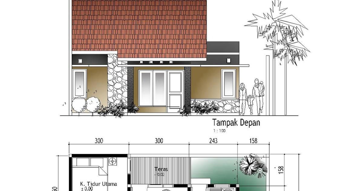 pelan reka bentuk rumah minimalis terbaru dan sederhana