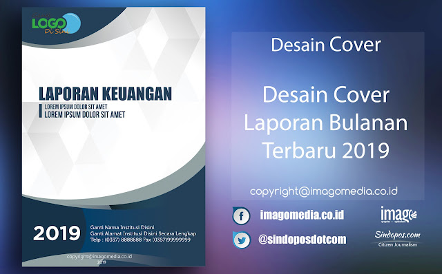 Download Desain Keren Cover Laporan Bulanan Terbaru 2019 Imago Media Home Of Creativity