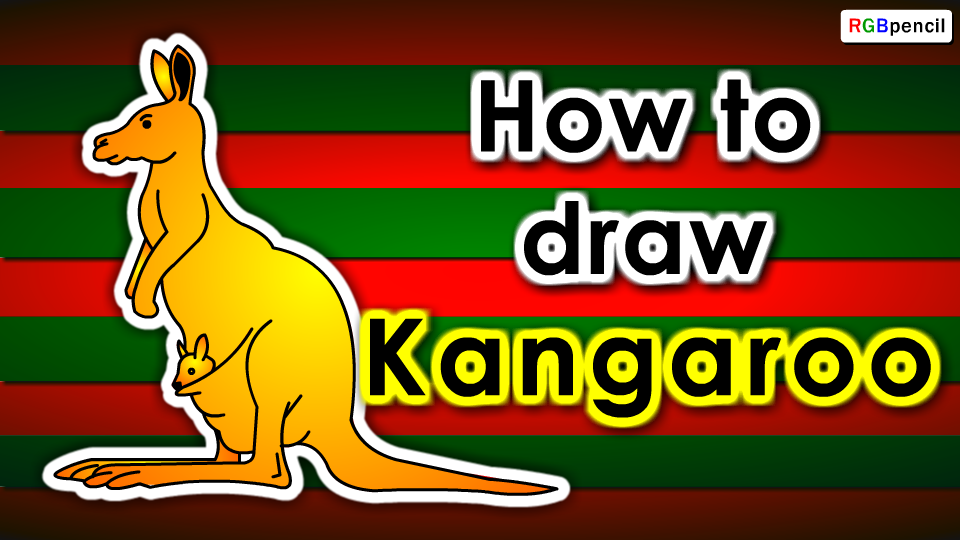How To Draw An Kangaroo