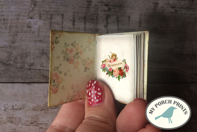 How to make Valentine's Day Mini Books