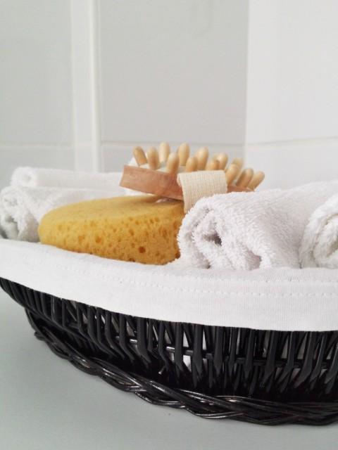 DIY košara za ručnike